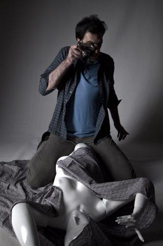 Homage to Blow-staged photography - Up - joubeen mireskandari - antonioni - blow up - contemporary photography - iran contemporary photography