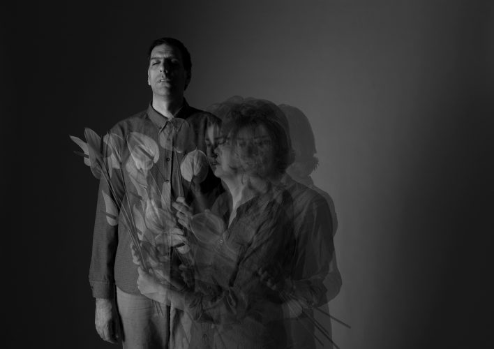 self portrait- staged photography - death - joubeen mireskandari - contemporary photography - iran contemporary photography