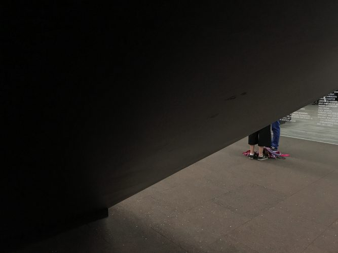 Tate gallery - joubeen mireskandari - view from outside - iran contemporary photography - Women in photography - women in london